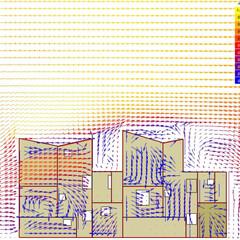 ナチュラル/白/開放的/二世帯住宅/窓/風/... 密集市街地の困難な条件の中、光、風、熱の…