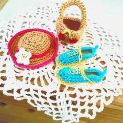 手作り雑貨/あみぐるみ/レース編み/ハンドメイド/雑貨/インテリア 母のレース編み❤かわいい最新作は👟靴です…