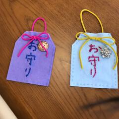 ハンドメイド/手作り/お守り/おじいちゃん/おばあちゃん/白寿/... 手作りお守り  おじいちゃんの白寿のお祝…