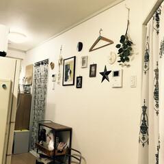 カフェ風インテリア/ヴィンテージ雑貨/賃貸マンション/太陽の塔/キッチンインテリア/キャンドゥ/... もうすぐ引っ越してしまうので、今の部屋の…