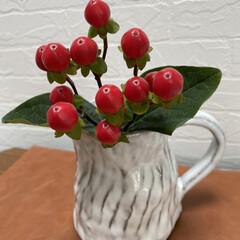 花のある暮らし/手作り/北欧雑貨/ホワイトインテリア雑貨/ホワイトインテリア/シンプルインテリア/... 前回の陶芸教室で作りました。 色々な釉薬…(1枚目)