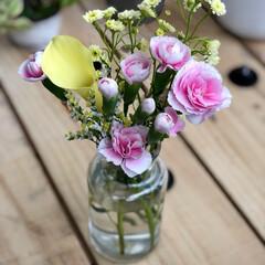 ケーブルドラム/モニター/macaちゃん/お花の定期便/お花が好き/お花のある暮らし/... お花の定期便。 Bloomee LIFE…
