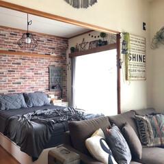 ナチュラルインテリア/カフェ風インテリア/男前インテリア/壁ペイント/セルフリノベーション/和室を洋室に/... 寝具を冷え冷え仕様にしました! さすがに…