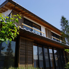 自然素材/職人/大工/左官/漆喰/木組の家/... 自然素材と職人の手仕事で造る木組の家(1枚目)