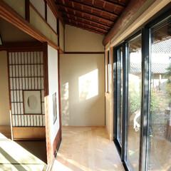 古民家/お座敷/改修/リフォーム/窓/回廊/... 古民家のお座敷を改修。老朽化の為に窓を取…