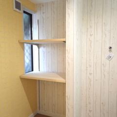設計/デザイン/中古住宅/アーチ開口/収納棚/可愛いお家/... リノベーションで生まれ変わる住まい〜夏は…(4枚目)
