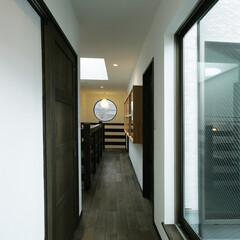 幸せ/注文住宅/マイホームが欲しい/無垢の床/間取り/塗り壁/... 形・色・質感 楽しさ広がる「和モダン」の…