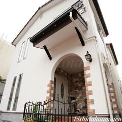 京都/京都注文住宅/京都工務店/自然素材の家/外壁/塗り壁/... 〜 施工事例のご紹介 〜 真っ白な塗り壁…