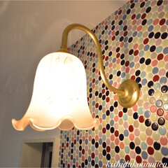 ブラケットライト/プロヴァンスハウス/フレンチハウス/自然素材/注文住宅/宇治/... シンプルですが高級感漂うブラケットライト…