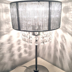 Francfranc/フランフラン/癒し/灯り/間接照明/スタンドライト ♡スタンドライト♡ 装飾が付いているこの…