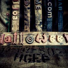 ハロウィン/halloween/アルファベットタイル/淡路島 淡路島を楽しもう♪ 淡路特産ハロウィン‼…