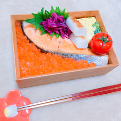 親子丼/お弁当 海の親子丼♡