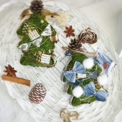 クリスマスツリー/クリスマスアート/こっこのお店/クリスマス2019/リミアの冬暮らし/雑貨/... 前に作ったクリスマスアート🎄🎅🎁✨