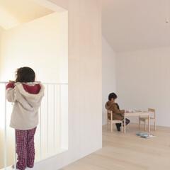 木/フローリング/ミニマル 小さな家の中の小さな家