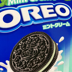 オヤツ/チョコミント/オレオ オレオ発見! チョコミント好きな人だけに…(2枚目)