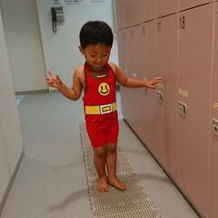 職場/あたたかい/室内/楽しんだ/怖くない/水/... 3才になったから  市のプールに行きまし…(2枚目)