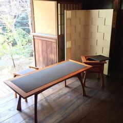 和/立礼/無垢/チェリ/お茶/畳/... 立礼 立礼とは、座った状態でお茶を提供で…