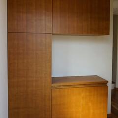 シューズボックス/下駄箱/玄関/収納/タモ/家具/... シューズボックス 仕上:タモ / ウレタ…