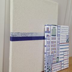 アート/パネルアート/壁掛け/壁面アート/壁紙/アクセント 複数の壁紙をLdpらしくコーディネートし…
