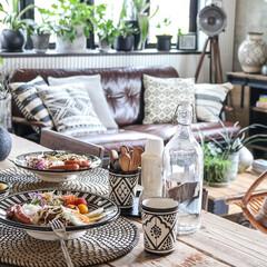 ボヘミアン/ランチ/モロッカン/セラミック/IKEA/boho/... お気に入りのモロッカンセラミックを使って…