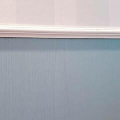 クッションフロア/剥がせる壁紙/トイレインテリア/海外風インテリア/DIY/洗面所/... 朝からおトイレ失礼します🙏  ごちゃつい…(4枚目)