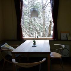 テーブル/シンプル 素卓…スタクと読んでください。素朴なテー…