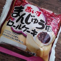 あいすまんじゅう/スイーツ あいすまんじゅうのロールケーキ発見!! …