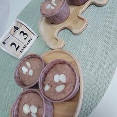 カップケーキ/ホットケーキミックス/おやつ作り ついにインフルエンザのお休みも最終日😅 …(1枚目)
