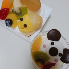 おうちカフェ/ケーキ 可愛いケーキをいただきました~💜可愛くて…(2枚目)
