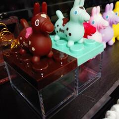 ロディ/セリア/インテリア Seriaのバレンタイン用のBOX♡どう…