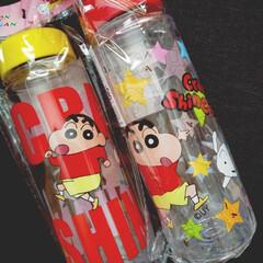 ボトル/クレーンゲーム/クレヨンしんちゃん/雑貨 息子がクレーンゲームでGETしたクレヨン…