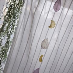 夏/LIMIAインテリア部/ダイソー ダイソーにて夏らしい飾りを見つけたので窓…