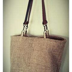 手織り/手紡ぎ/バック/カード織り 羊毛のチェビオットとイングリッシュダウン…