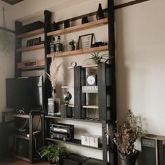 DIY収納 アイアン ブラックのディアウォールです。…