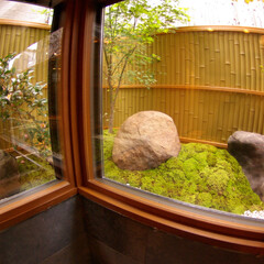 庭/日本庭園/和風 庭をLにして、広さを見せてみた。
