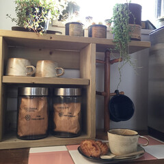 カフェ風インテリア お隣さんから頂いたうなぎパイがどうしても…