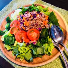 手作り/ホームメイド/野菜/ビーガン/ベジタリアン/おうちごはん/... 久しぶりに家でお昼ご飯だったので、冷蔵庫…