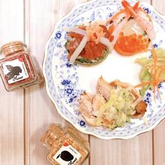 1プレート/海鮮/ピンクdeひな祭り/ピーラー/野菜/雛人形/... 雛祭り1プレートを作ってみました❣️  …