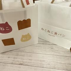 ドット柄/ネコ型/ねこねこ食パン/焼き色アート にゃー×朝食♡vol.2  焼き色アート…(3枚目)