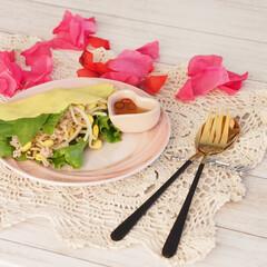ベトナムフード/ベトナム料理/米粉/バインセオ/ハンドメイド/手作り/... バインセオ♡Bánh xeo  ベトナム…(2枚目)