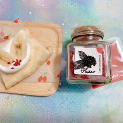 Flusso/Flussoアンバサダー/Flussoフルーツソルト/オーガニックソルト/新感覚調味料/調味料/... 【グルテンフリー!】米粉クレープ♡  米…