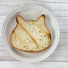 ネコ型/焼き色アート/ねこねこ食パン にゃー×朝食♡  ねこねこ食パン、やっと…(4枚目)