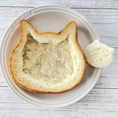 ねこねこ食パンアレンジ/ねこねこ食パン/おうち時間/買ってよかったもの/おうちグッズ/快適グッズ/... ミートパイ×にゃー×オニオングラタンスー…(3枚目)