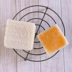 米粉食パン/米粉/キューブ型/グルテンフリー/キューブ食パン型/カスタードクリームミックス/... キューブ米粉食パン×うさボード♡  昨日…(4枚目)