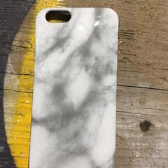 アイフォンケース/大理石/塗装/DIY/雑貨 アイフォンケースが汚かったので、大理石風…