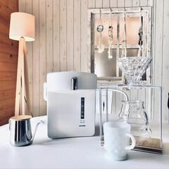 電気ポット 保温付き おしゃれ 保温 人気 2.2L 保温機能付き おすすめ ジャーポット IMHD-022-W アイリスオーヤマ | アイリスオーヤマ(電気ポット)を使ったクチコミ「コーヒーを淹れるにはドリップケトル…と言…」