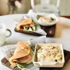 子ども人気メニュー/休日ランチ/オムレット/おうちカフェ/暮らし 今は外食も控え気味…家で気分転換にのんび…