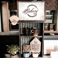 DIY/カフェ/キッチン/収納 収納棚、コーヒーフィルターホルダー、ベー…