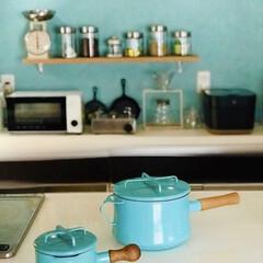 ダンスク バターウォーマー 鍋  | DANSK(片手鍋)を使ったクチコミ「他の琺瑯鍋と違うのは木製の持ち手がネジ式…」
