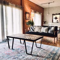ラグカーペット 約1.5畳 ルームマット ウィルトン織 約133×190cm トルコ製 抗菌防臭 絨毯 消臭 | イケヒコ(カーペット、ラグ)を使ったクチコミ「無垢材を壁や床や柱に使ってます。 素足で…」